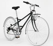クロスバイク緑3