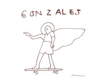 mark gonzales ロゴ