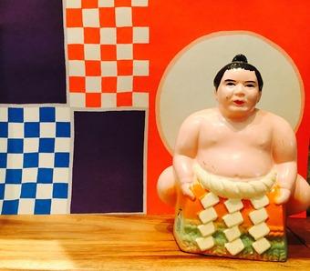 お相撲さん貯金箱