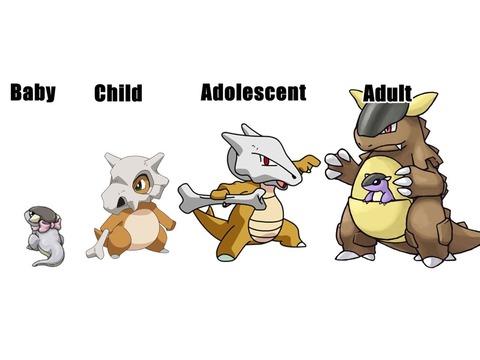 Pokemon cubone without skull