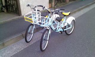 ツイン自転車 / 2017.05.15