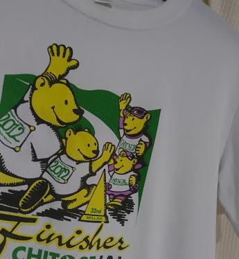 クマの親子Tシャツ