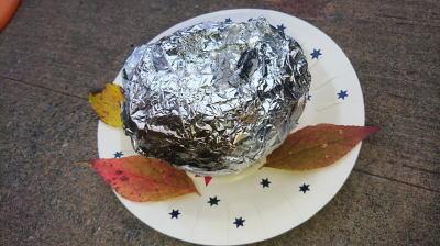 キャンプ料理かぼちゃリゾットその10