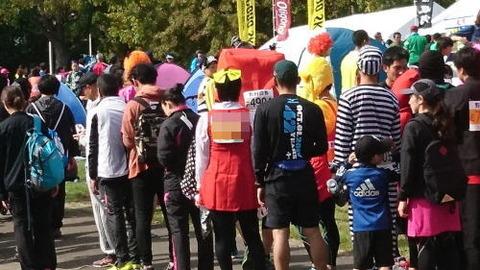 札幌マラソンコスプレ