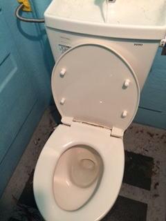 ライジングサン仮設水洗トイレ