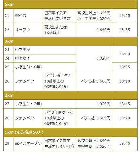 札幌マラソン2017競技種目-2
