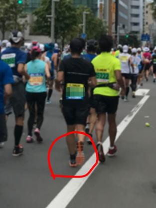 クラウドフロ@北海道マラソン