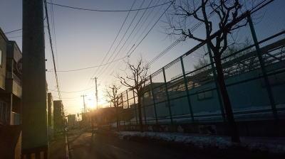 朝ランニング