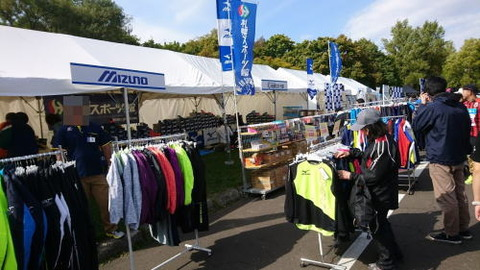 札幌マラソンスポーツショップ出店