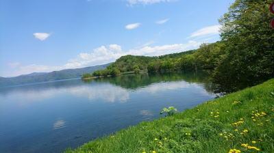 洞爺湖マラソン景色ラン