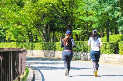 公園ジョギング