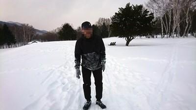 雪上ランすっころび-5