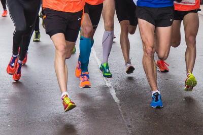 マラソン 脚