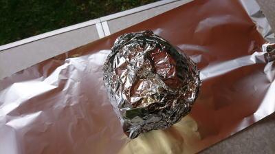 キャンプ料理かぼちゃリゾットその7