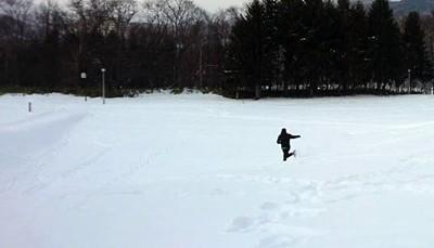 雪上ランすっころび-3