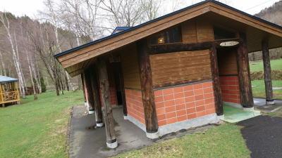 穂別キャンプ場トイレ