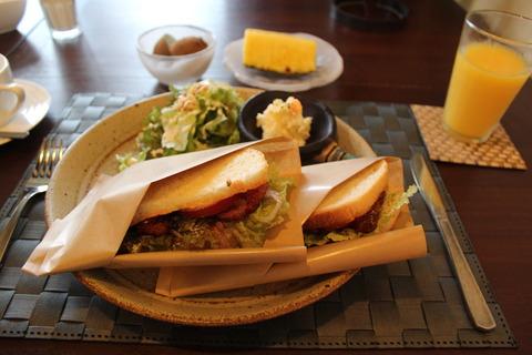 14年2月沖縄〜hotel cavaでの朝食と古宇利島観光