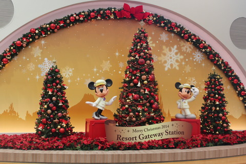 14年冬クリスマスディズニーシー(前編)