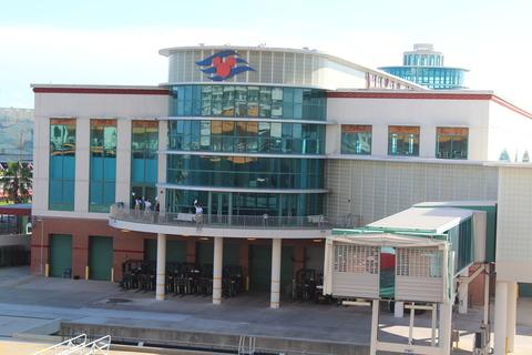 14年9月DCL/WDW〜Day1 ターミナルでのチェックイン&出港まで