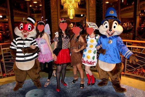 14年9月 DCL/WDW〜Day 3 フル仮装で臨んだディズニークルーズのハロウィンナイト