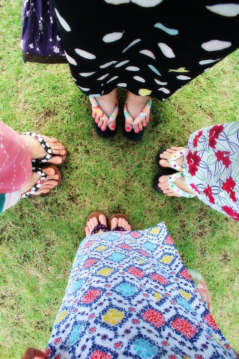 14年8月京都〜レトロ浴衣でかき氷♡8月京都旅+明けましておめでとうございます