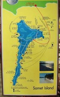 サメット地図