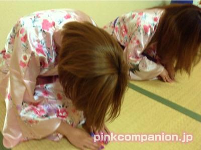アネックス茜-ピンクコンパニオン-入場