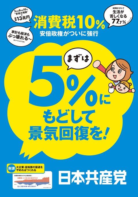 消費税ポスター