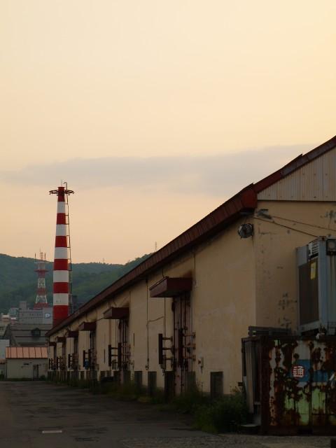 夕方の情景@小樽港第2埠頭