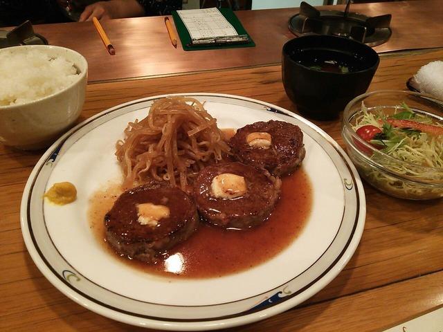 ロールビーフ定食