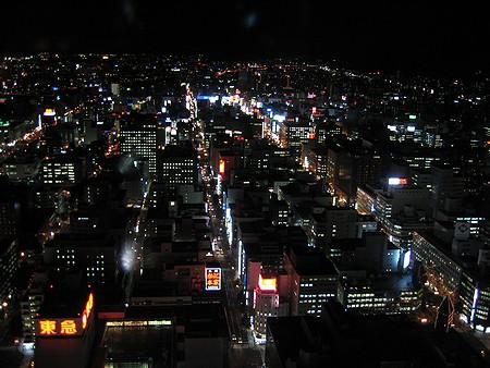 札幌(夜)