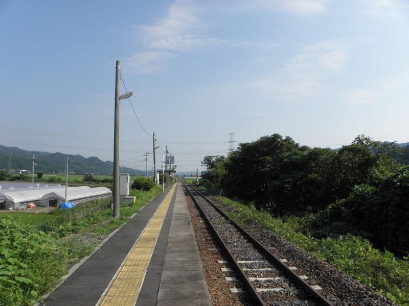 水郡線-28:南石井駅 : 停車場遍...