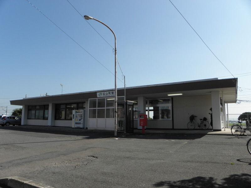 東北本線-103:松山町駅 : 停車...