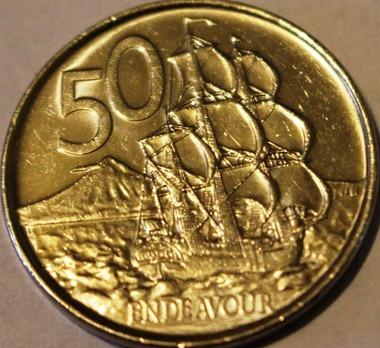 NZ coin, 8-42017 113