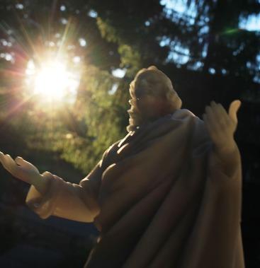 34 doc. Jesus with Shasta Daisy  6-29-2018 183