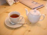 美味しい紅茶をどうぞ。