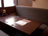ゆったりソファのテーブル席