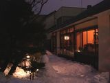雪の中庭3