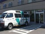 センター入口・送迎バス