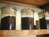 コーヒー豆ボトル