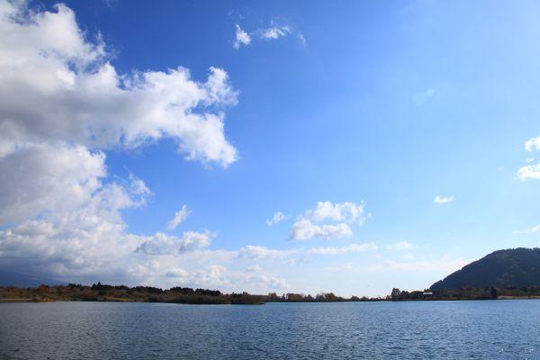 田貫湖 空と湖