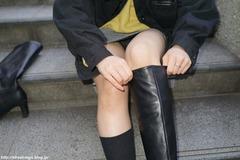 19歳大学生の子ブーツ編_42