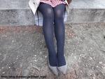 20歳、黒タイツのお姉さん_6