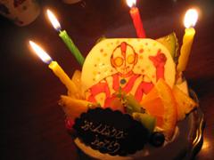 ウルトラマンボーイのケーキ