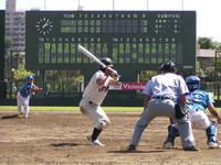 47歳の大塚投手はSS2003第3位に導いた(淵野辺)