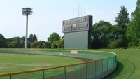 八王子市民球場で草野球!