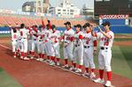 ポカポカ太陽が気持ちい横浜スタジアム