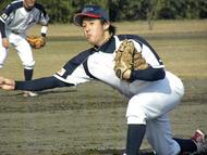 サイドスロー 滝田光次郎投手(BODYCRAFT)