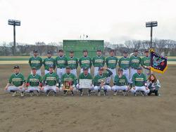 第34回東日本軟式野球大会(1部)出場