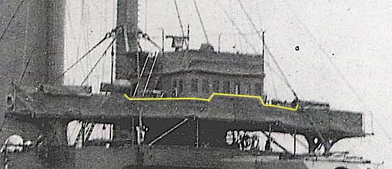 M3802三笠前部艦橋2